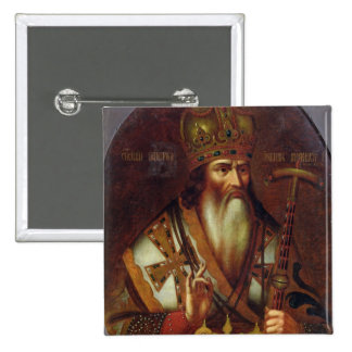 Portrait of Joachim, Patriarch of Moscow 15 Cm Square Badge