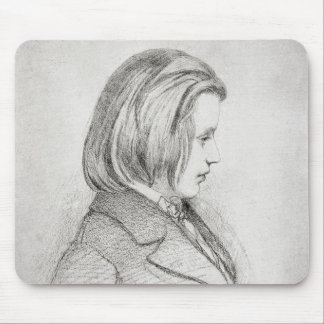 Portrait of Johanes Brahms  aged Twenty, 1853 Mouse Mat