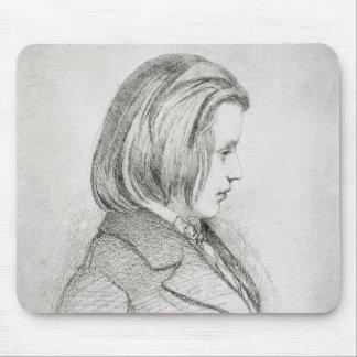 Portrait of Johanes Brahms  aged Twenty, 1853 Mouse Pad