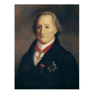 Portrait of Johann Wolfgang von Goethe Postcard
