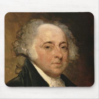 Portrait of John Adams Mouse Mat