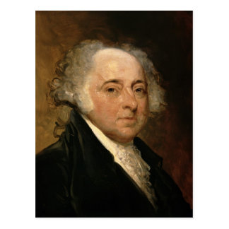 Portrait of John Adams Postcard