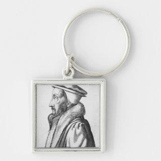 Portrait of John Calvin  aged 53, 1564 Key Ring