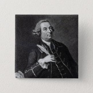Portrait of John Christopher Smith 15 Cm Square Badge