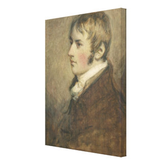 Portrait of John Constable (1776-1837) aged twenty Canvas Print