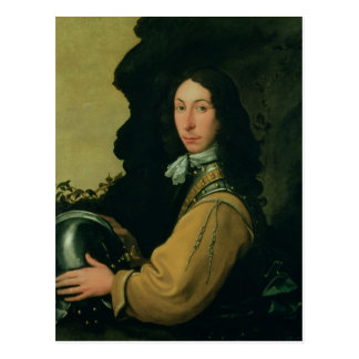 Portrait of John Evelyn Postcard