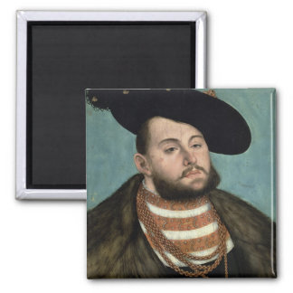 Portrait of John Frederick the Magnanimous (1503-5 Magnets