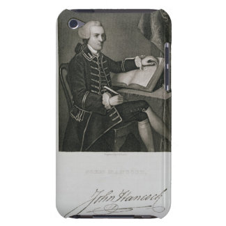 Portrait of John Hancock, engraved by John B. Forr Barely There iPod Cover
