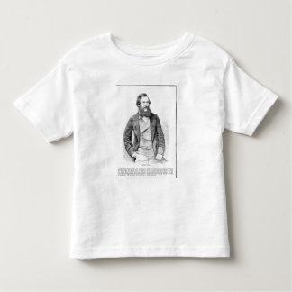 Portrait of John Hanning Speke (1827-64) (engravin Toddler T-Shirt