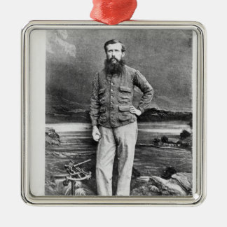 Portrait of John Hanning Speke Christmas Ornament