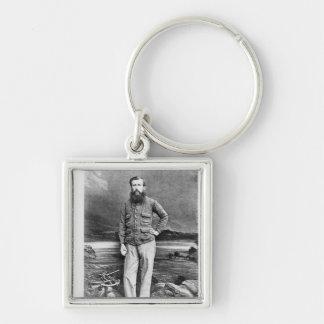 Portrait of John Hanning Speke Key Ring