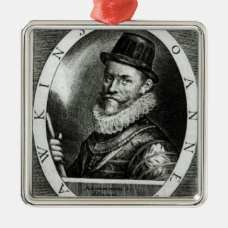 Portrait of John Hawkins Christmas Ornament