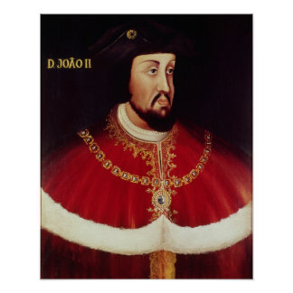 Portrait of John II of Portugal Poster