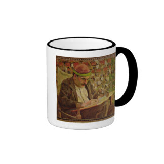 Portrait of John Maynard Keynes (1883-1946) (oil o Ringer Mug