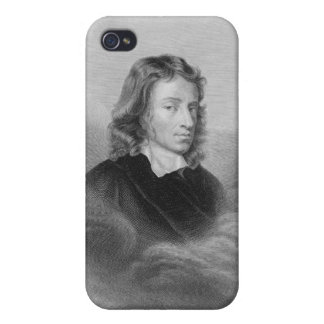 Portrait of John Milton (1608-74) engraved by the Case For The iPhone 4