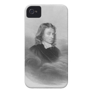 Portrait of John Milton (1608-74) engraved by the iPhone 4 Case-Mate Case