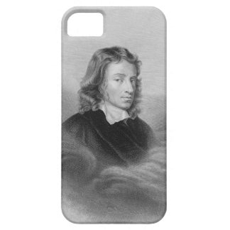 Portrait of John Milton (1608-74) engraved by the iPhone 5 Cases