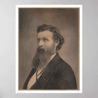Portrait of John Muir (1349) Poster