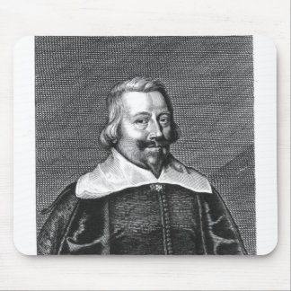 Portrait of John Pym  engraved by George Mouse Pad