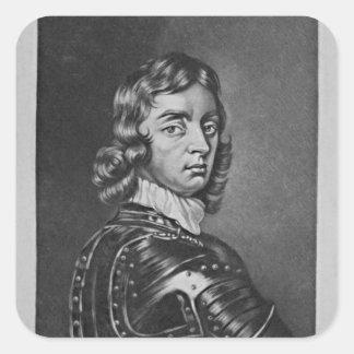 Portrait of John Viscount Mordaunt Square Sticker