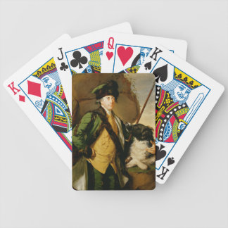 Portrait of John Whetham of Kirklington (1731-81) Bicycle Playing Cards