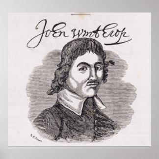 Portrait of John Winthrop Poster