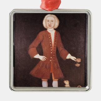Portrait of Jonathan Bentham, c.1725 Christmas Ornament