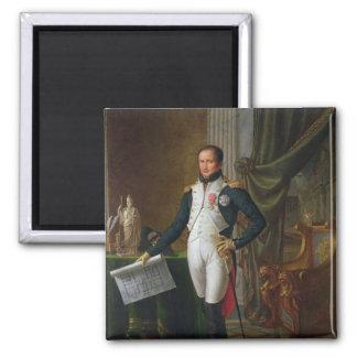 Portrait of Joseph Bonaparte  King of Spain Square Magnet