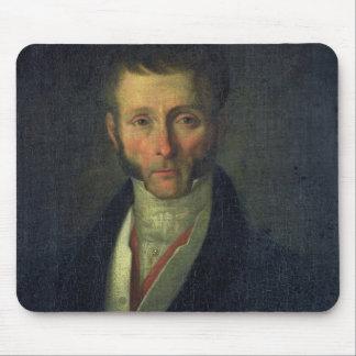 Portrait of Joseph Fouche  Duke of Otranto, 1813 Mouse Mat