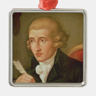 Portrait of Joseph Haydn Christmas Ornament