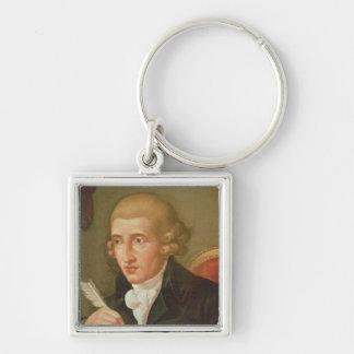 Portrait of Joseph Haydn Keychain