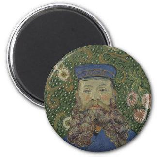 Portrait of Joseph Roulin by Van Gogh Fridge Magnet