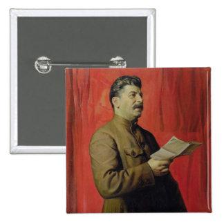 Portrait of Josif Stalin, 1933 Pins