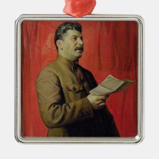 Portrait of Josif Stalin, 1933 Christmas Ornaments