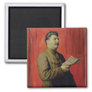 Portrait of Josif Stalin, 1933 Refrigerator Magnets
