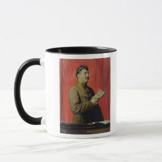 Portrait of Josif Stalin, 1933 Mug