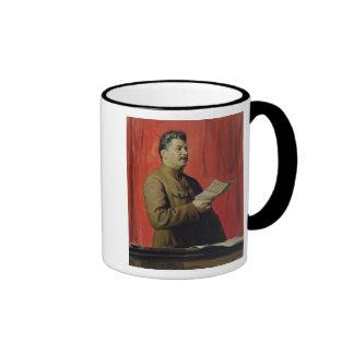 Portrait of Josif Stalin, 1933 Mug