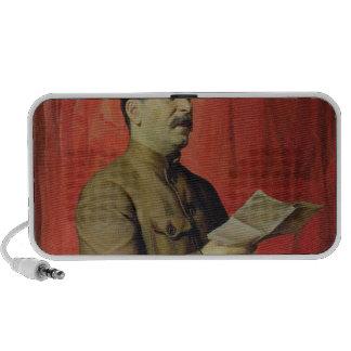 Portrait of Josif Stalin, 1933 Laptop Speaker