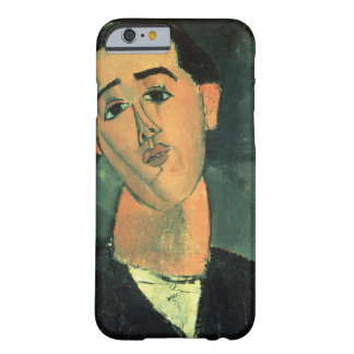 Portrait of Juan Gris (1887-1927) 1915 (oil on can Barely There iPhone 6 Case