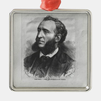 Portrait of Jules Ferry Christmas Ornament