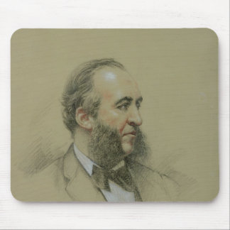 Portrait of Jules Ferry Mouse Pads