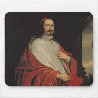 Portrait of Jules Mazarin Mouse Pad