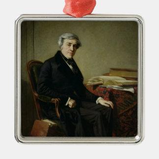 Portrait of Jules Michelet Christmas Ornament