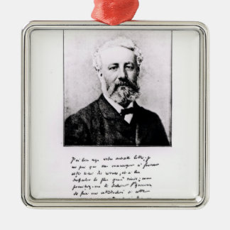 Portrait of Jules Verne Christmas Ornament