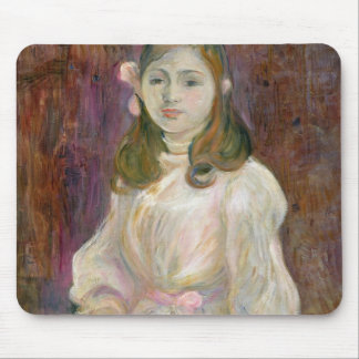 Portrait of Julie Manet  Holding a Book, 1889 Mouse Pad