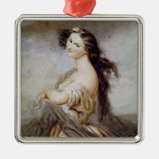 Portrait of Juliette Drouet Christmas Ornament