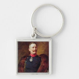 Portrait of Kaiser Wilhelm II Key Ring