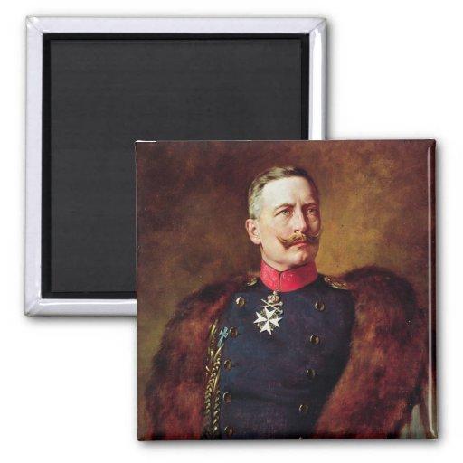 Portrait of Kaiser Wilhelm II Fridge Magnet