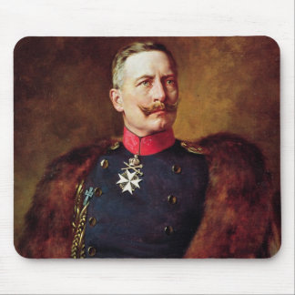 Portrait of Kaiser Wilhelm II Mouse Mat