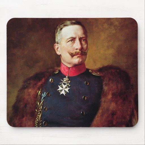 Portrait of Kaiser Wilhelm II Mousepad